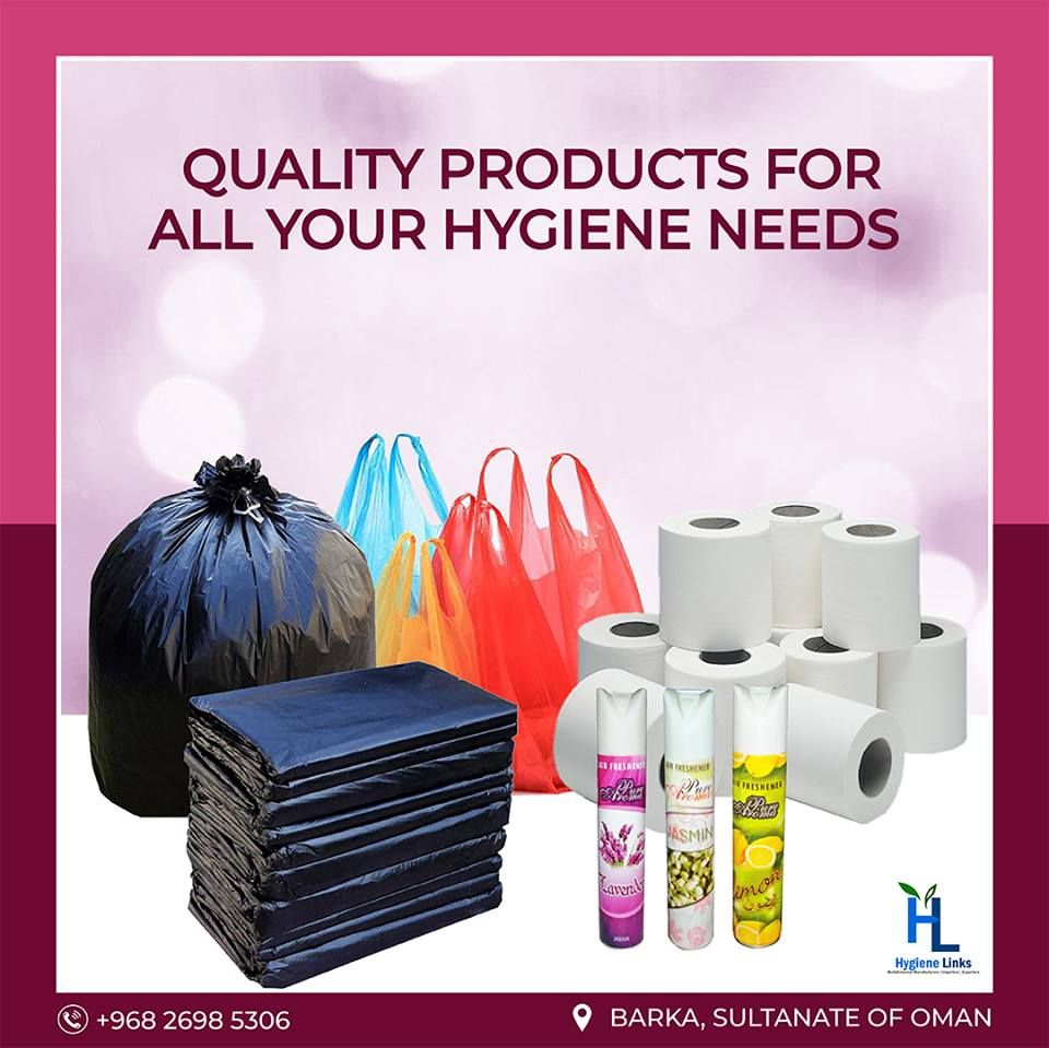 Hygiene Links Is The Best Cleaning Material Manufacturers In Oman