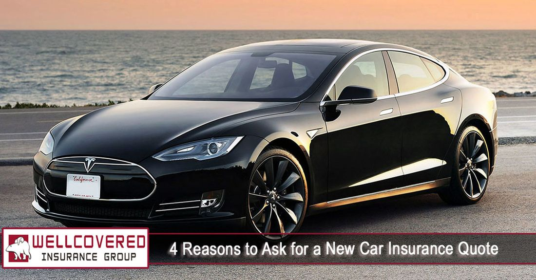 4 Reasons to Ask for New Car Insurance Quote Tesla model