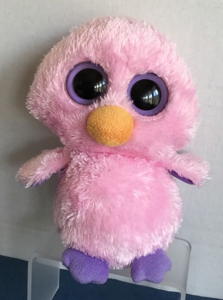 TY Beanie Boos Posy the Pink Chick Plush 6