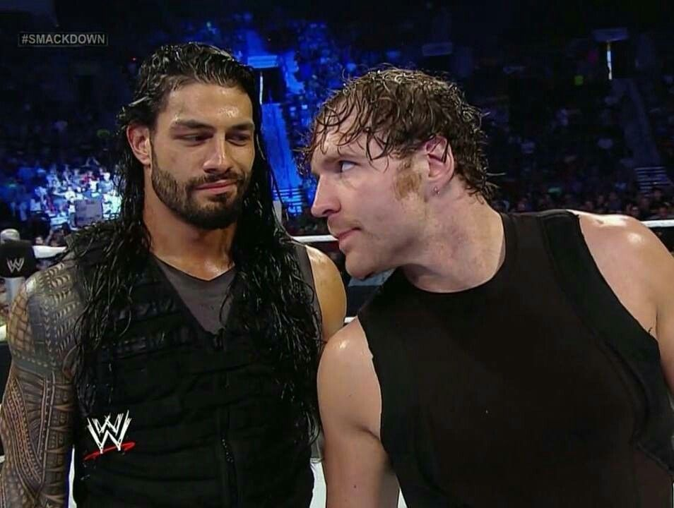 Roman Reigns and Dean Ambrose #sexyness