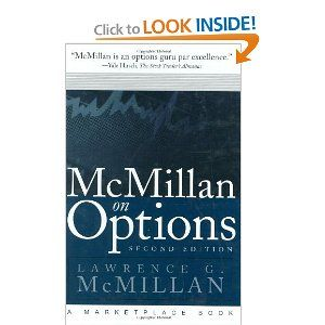Collection of option strategies in a book