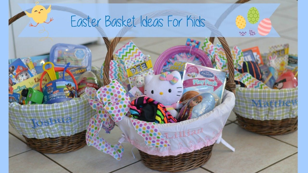 Easter basket ideas for kids youtube easter pinterest easter easter negle Image collections