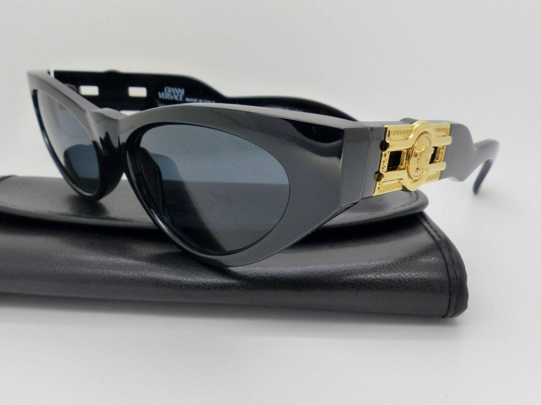 genuine rare vintage gianni versace sunglasses mod 476 b. Black Bedroom Furniture Sets. Home Design Ideas
