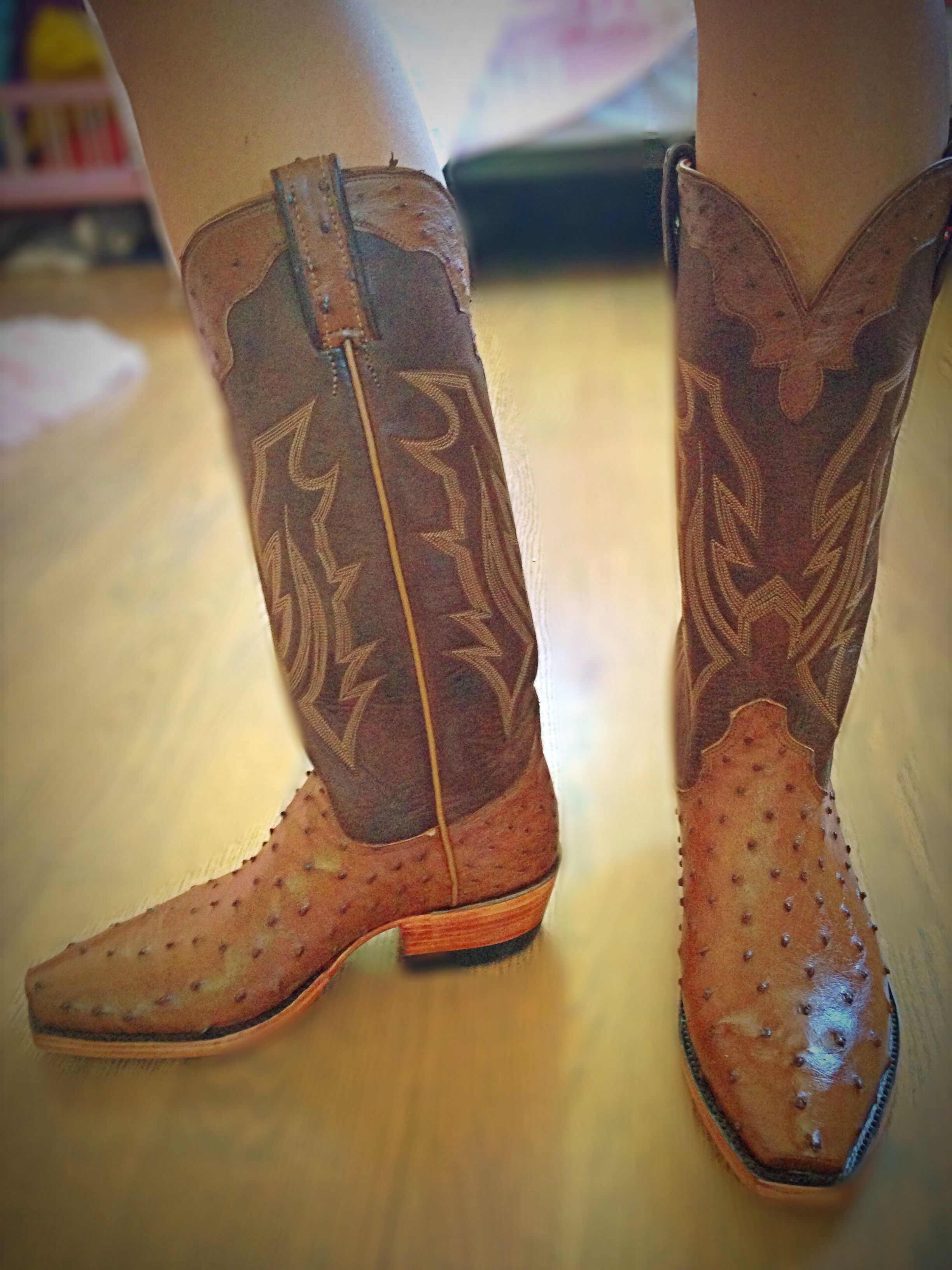 Custom cowboy boots designed by me!!!
