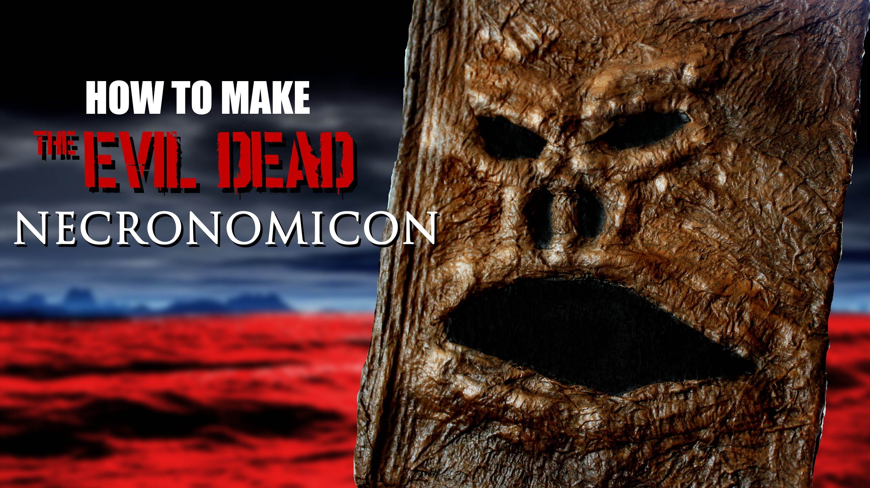 How to make the EVIL DEAD book (Necronomicon) | Halloween Party