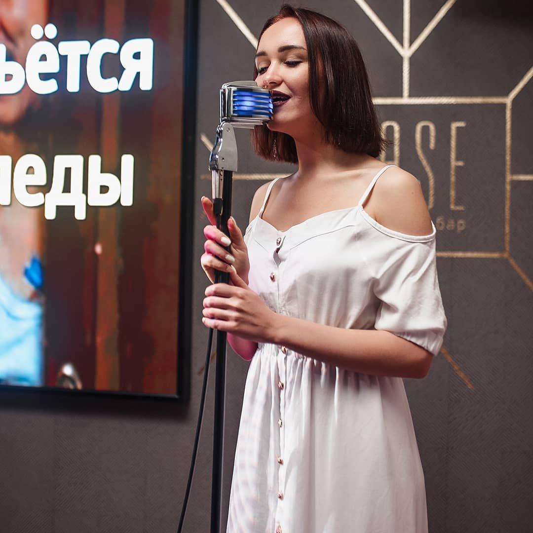 Девушка поет в клубе работа оренбург работа моделью