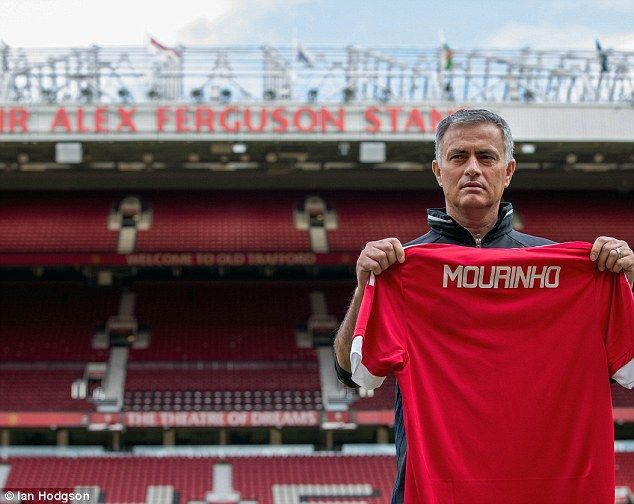 Jose Mourinho is officially unveiled as Manchester United manager at Old Trafford on Tuesday