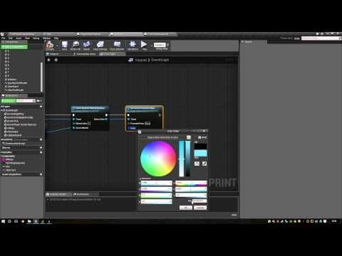 Unreal Engine 4 - Blueprints Keypad Tutorial | UE4