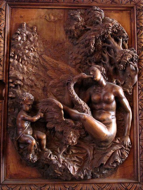 leda & the swan Леда - супруга спартанского царя Тиндарея, к которой Зевс явился к ней в облике лебедя.