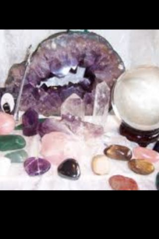 My healing/ divination  Crystals