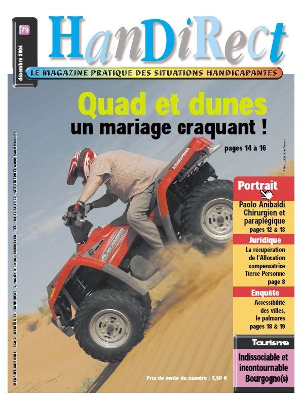 Couverture du numéro 79 : Quad et dunes, un mariage craquant !