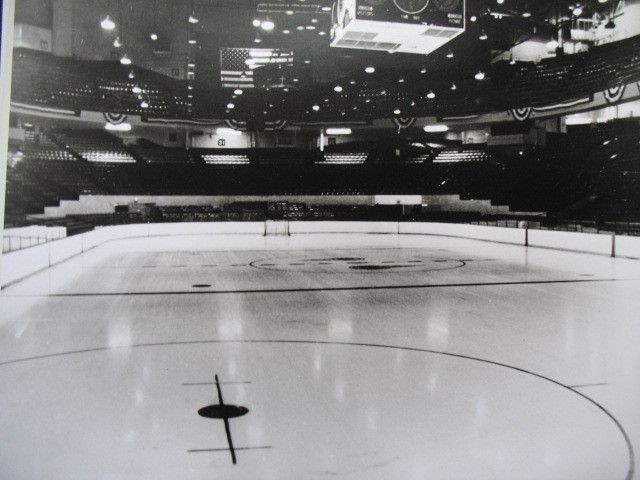 Inside The Old Olympia Arena In Detroit Detroit Red Wings Nhl Hockey Hockey Arena Red Wings Hockey Detroit Red Wings Hockey