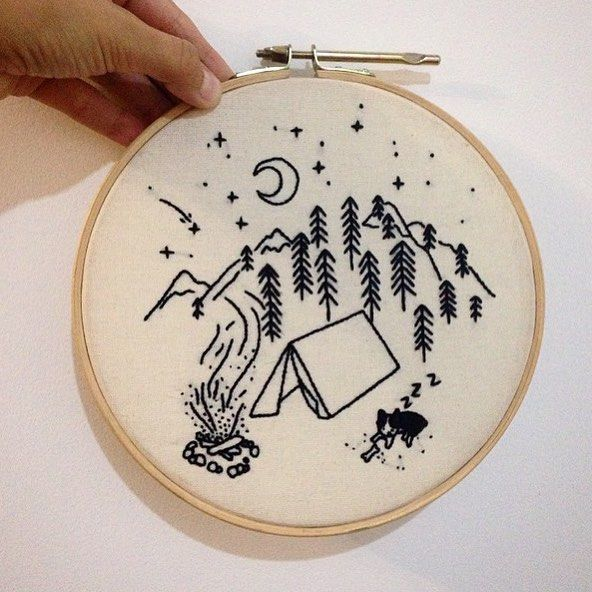 Who has weekend plans? Stitching in the great outdoors, perhaps? More storms are in the forecast for here in Kansas City, MO (USA) so no camping plans. ⛺️⭐️