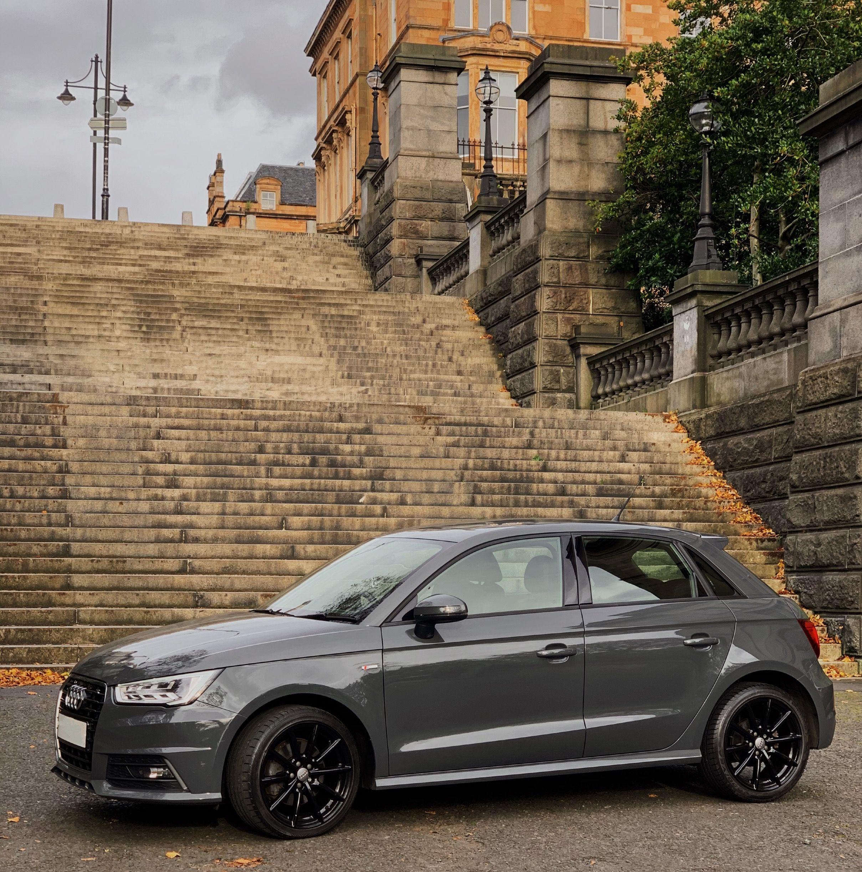 Nardo Grey Audi With Black Alloys Audi A1 Black Audi Audi A1 Sportback