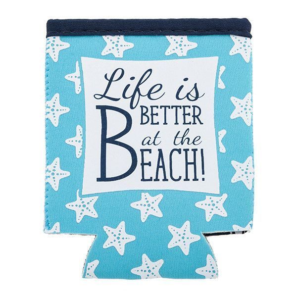 Life is Better at the Beach Koozie