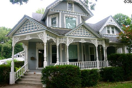 Queen Anne house with lacework trim Coldwater MI