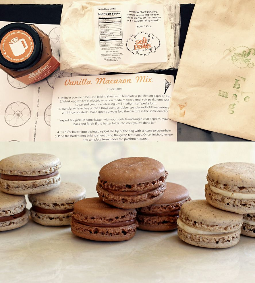 Diy macaron baking kit macarons food and yummy food diy macaron baking kit solutioingenieria Image collections