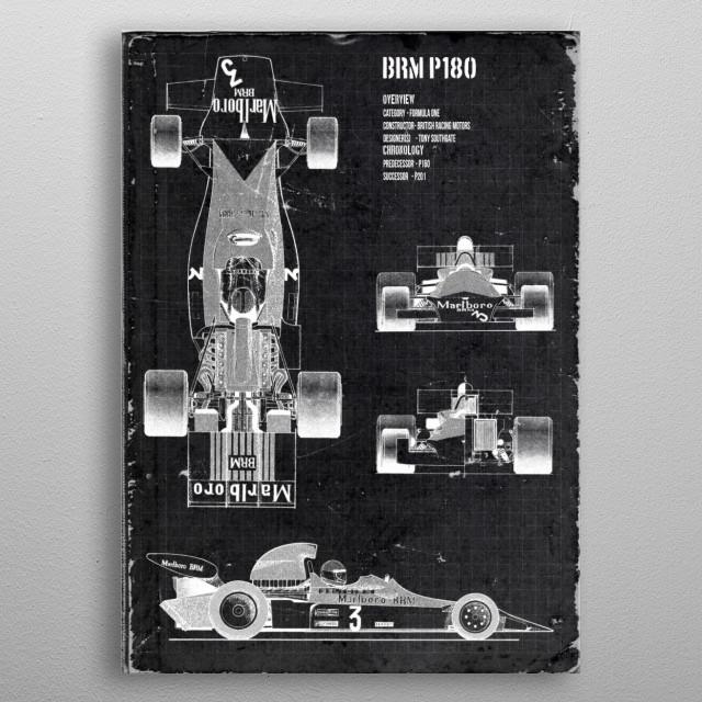 BRM P180 by FARKI15 DESIGN | metal posters - Displate | Displate thumbnail