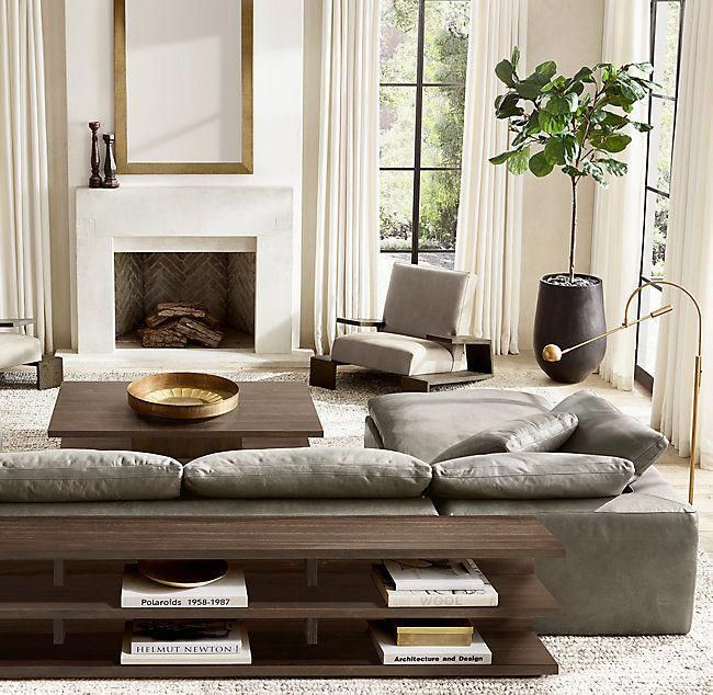 Cloud Modular Wide Console #restorationhardware