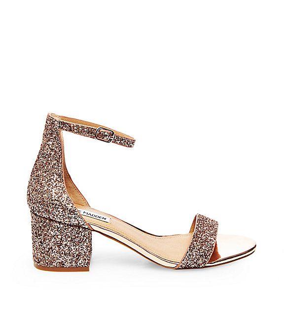 Irenee Black Leather Bridal Shoes Low Heel Ankle Strap Heels Low Heel Shoes