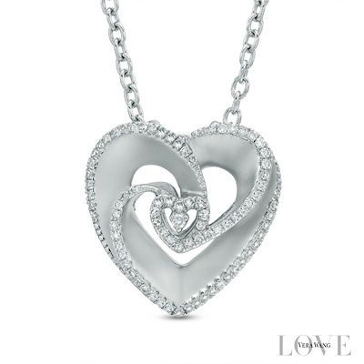 Zales wish Necklace in Sterling Silver - 17 Dcu97JG9Cm