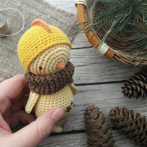 CHICK crochet pattern | amigurumi | Pinterest | Salas de artesanías ...