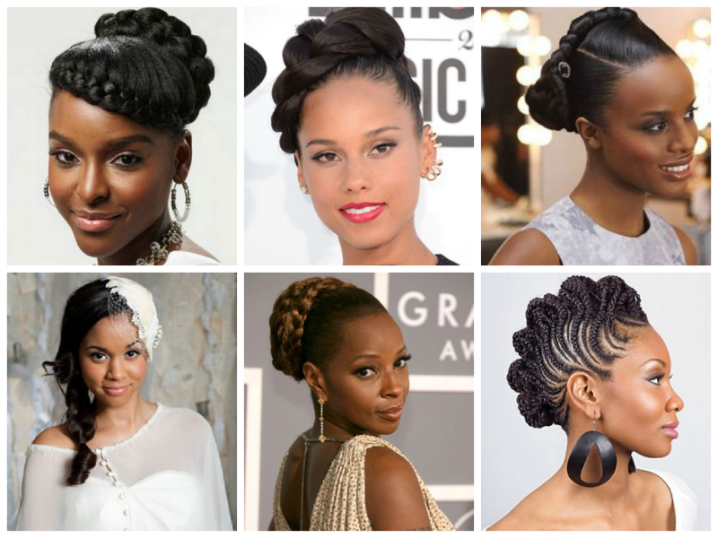 Great Wedding Hairstyles That Black Women Can Try Fashionfa Micro Braids Hairstyles Micro Braids Black Wedding Hairstyles