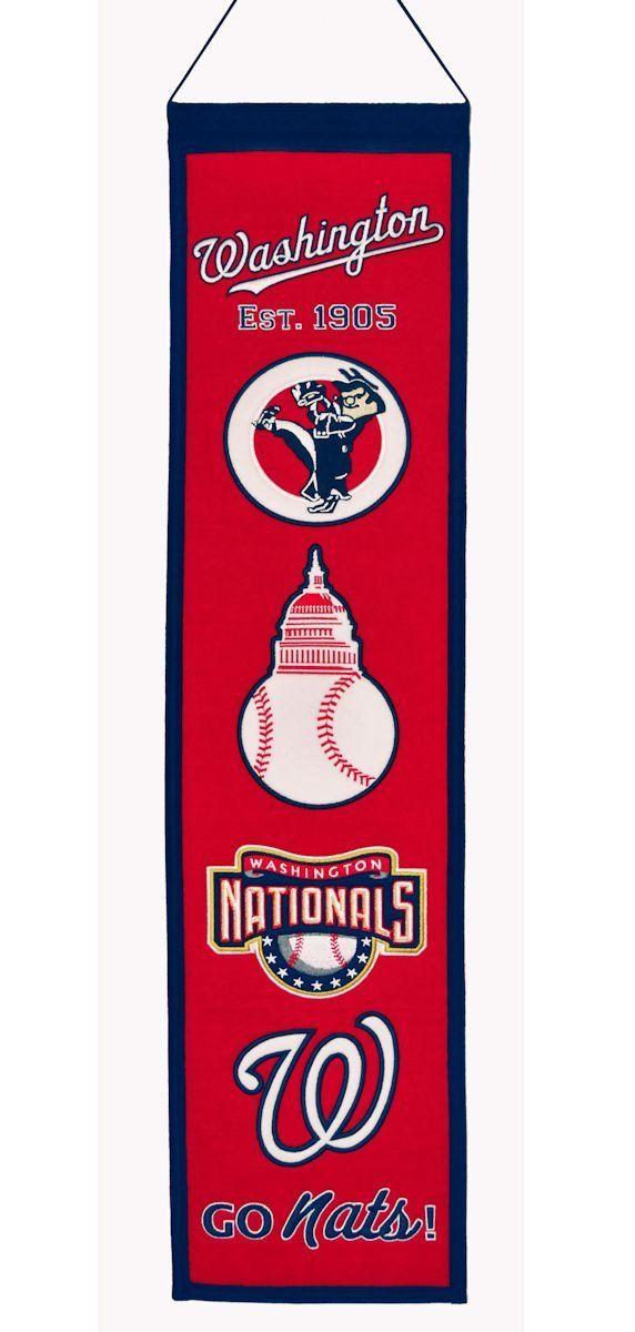 Washington Wizards Logo Evolution Heritage Banner
