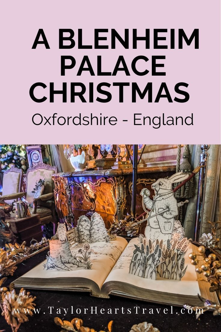 Blenheim Palace at Christmas | Blenheim palace christmas, Blenheim palace, Days out in england