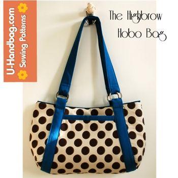 Pdf Sewing Patterns By U Handbag Hobo Handbags And Bag