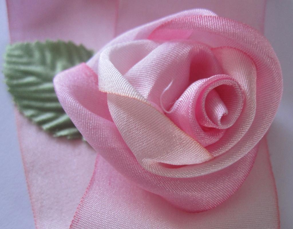 Silk Ribbon Rose Brooch Tutorial Ribbon Rose Silk Ribbon And Silk