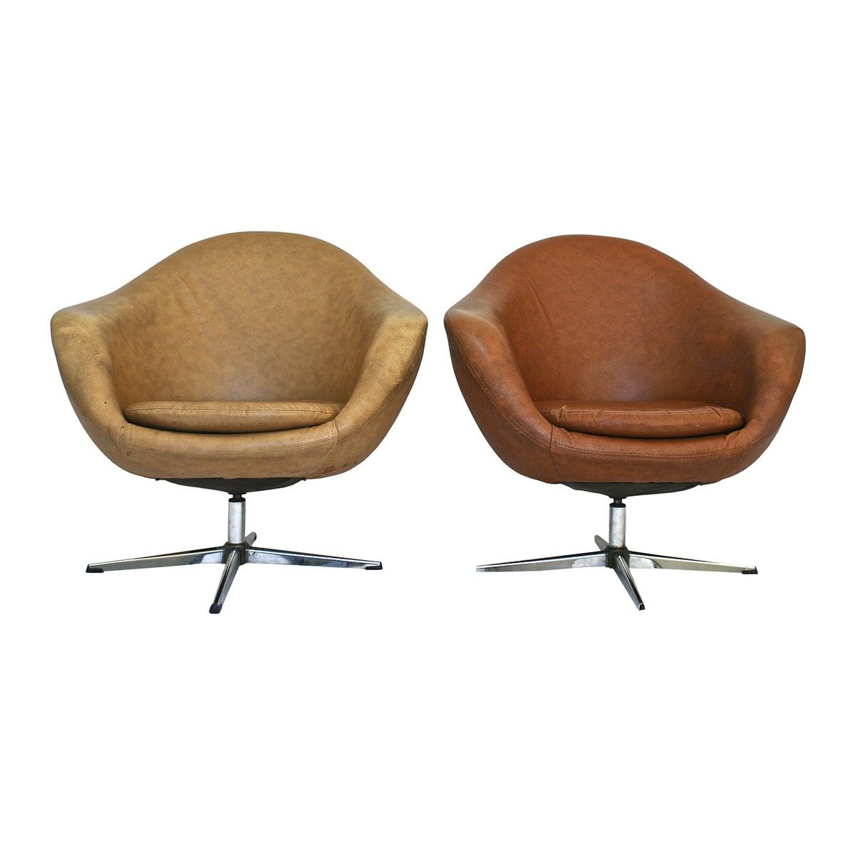 Awe Inspiring Mid Century Modern Swivel Chairs Living Room Leather Home Interior And Landscaping Mentranervesignezvosmurscom