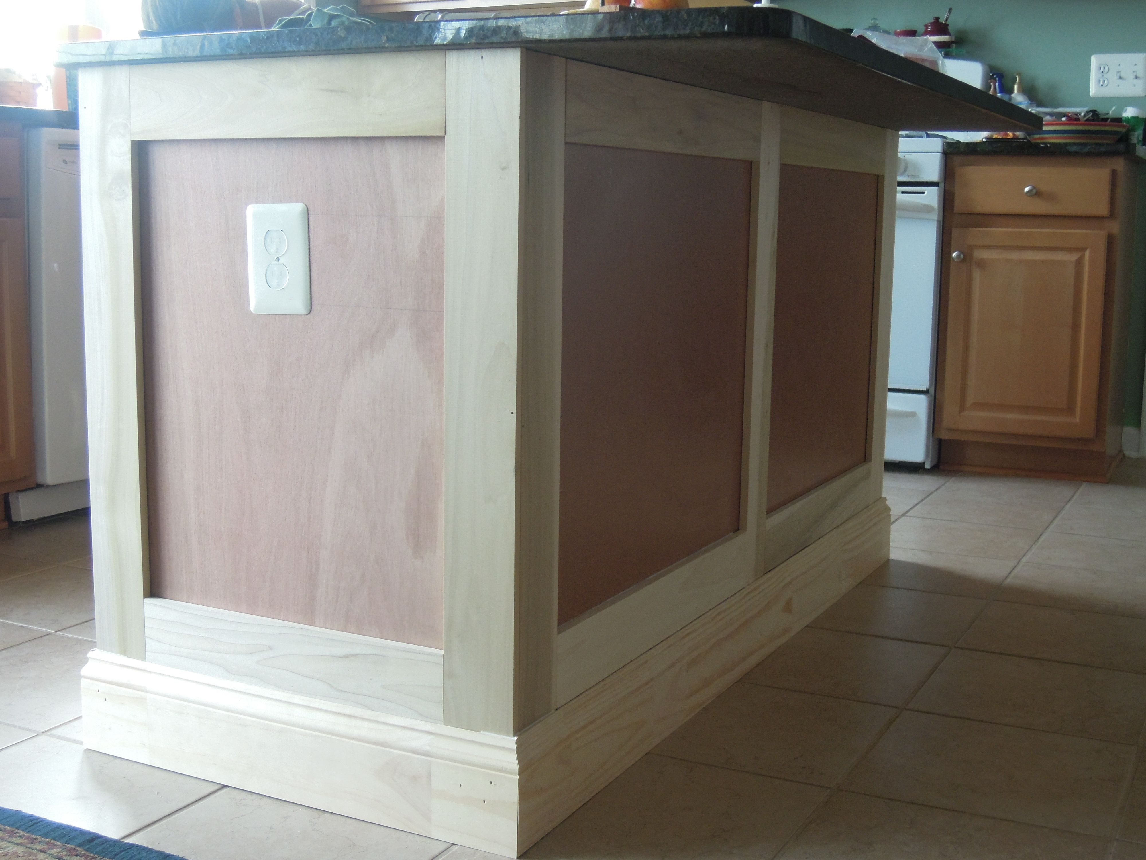 DIY Kitchen Island Remodel