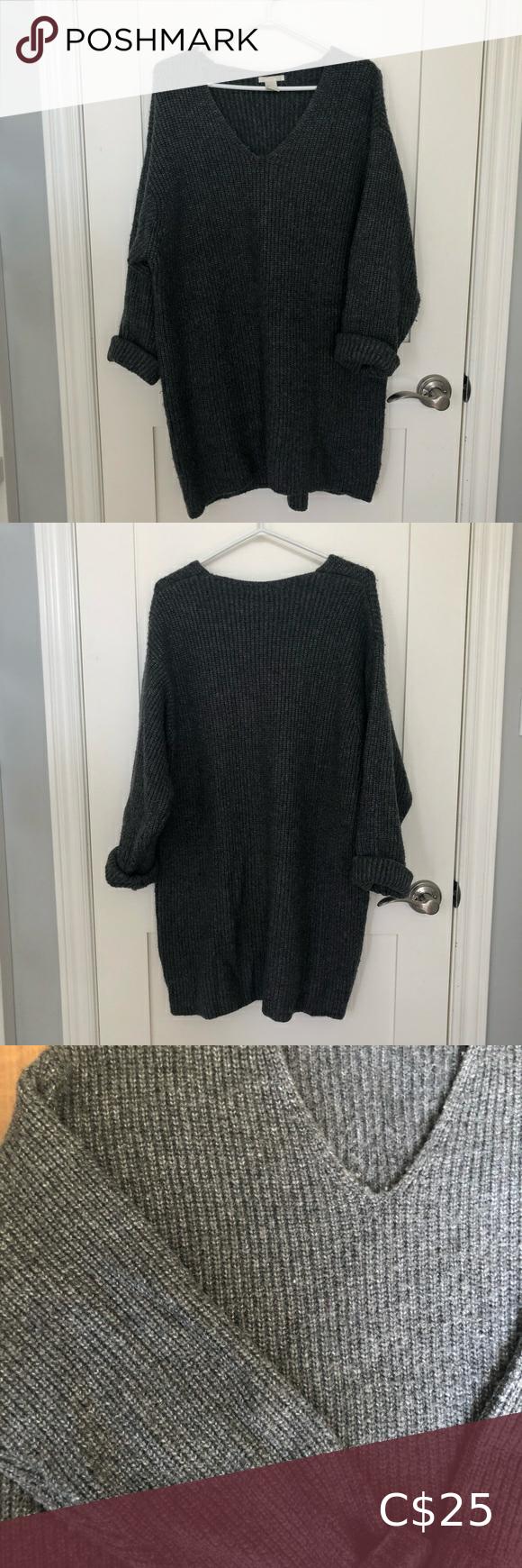 H&m oversized knit sweater