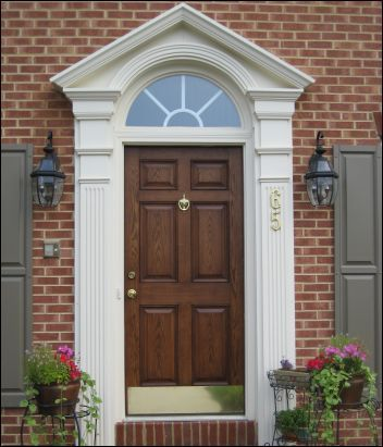 Wonderful Door | White Swan Homes And Gardens: Front Entrance Doors For Curb Appeal.  May