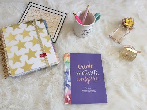 Erin Condren Life Planner: designer Sticker Book Ed. 2 - YouTube