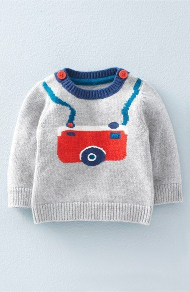 Photo of Mini Boden 'Fun' Knit Sweater (Baby Boys & Toddler Boys)   Nordstrom