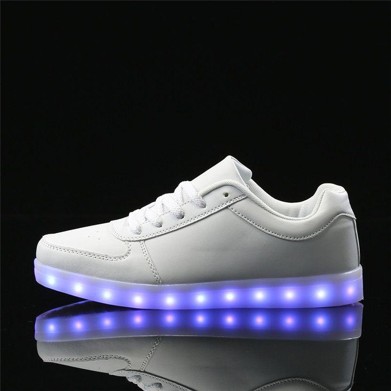 vívido y de gran estilo nueva colección último Pin on Led shoes Mens