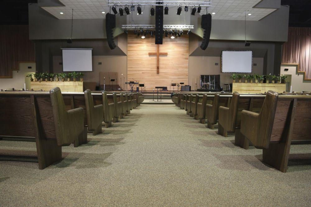 Contemporary Modern Renovations Church Sanctuary Church