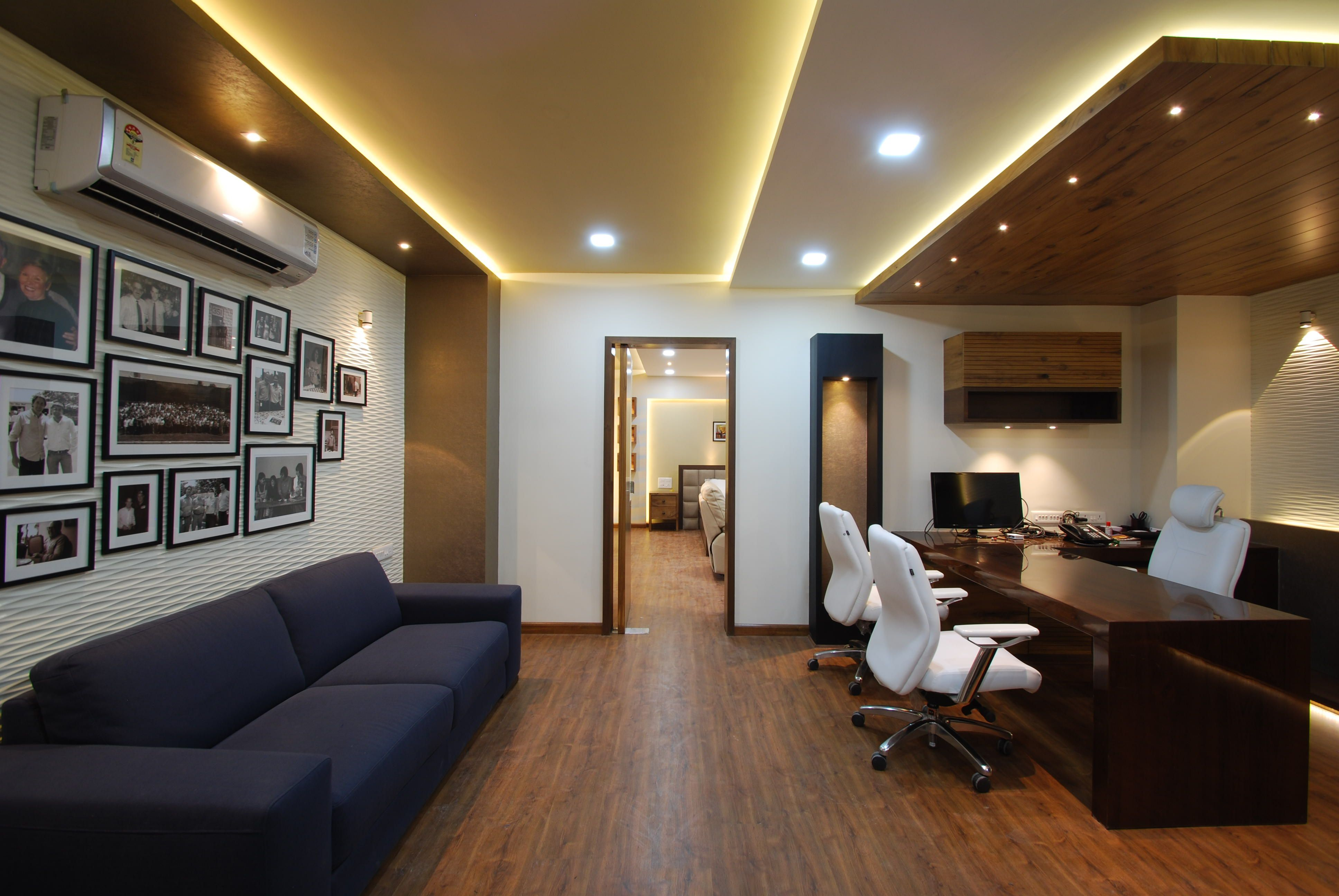 Cpc office interior design by maulik vyas architects for Office cabin interior