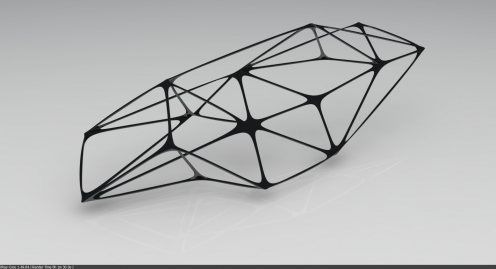 Organic Space Frame | Arch_ideas | Pinterest | Space frame, Frame ...