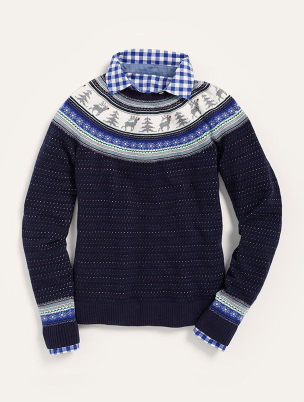 Talbots Reindeer Fair Isle Sweater = love. | Clothes and Shoes ...
