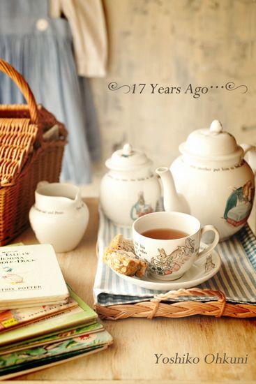 Beatrix Potter Peter Rabbit Tea service
