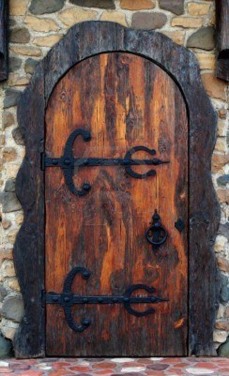 Old wooden door. Old-fashioned pub doorway. & Old wooden door. Old-fashioned pub doorway. | Doors | Pinterest ... pezcame.com