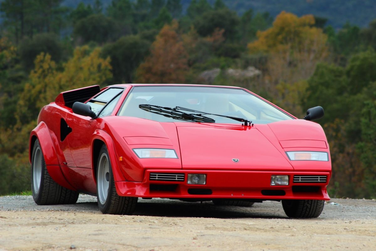1986 lamborghini countach 5000 qv 1 owners classic. Black Bedroom Furniture Sets. Home Design Ideas