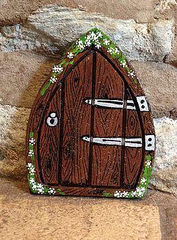 Hand Painted Woodland Fairy Door | Fairy doors | Pinterest | Fairy ...