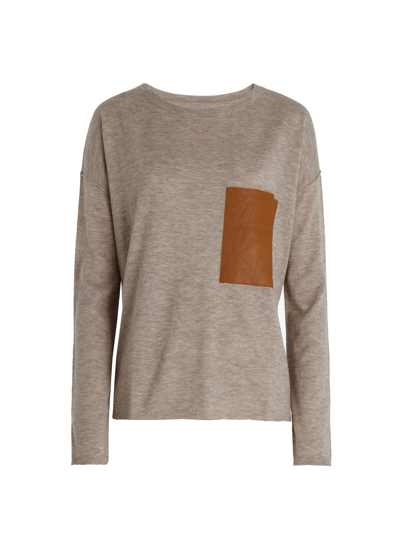 PULL PIC LC, taupe, Zadig & Voltaire