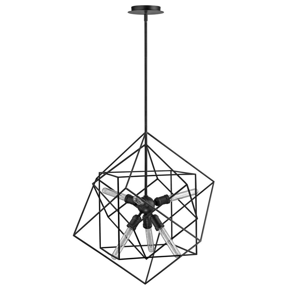 allmodern lighting pdp geometric jennings reviews pendant light
