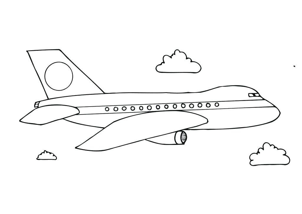 Printable Airplane Coloring Pages Airplane Coloring Pages