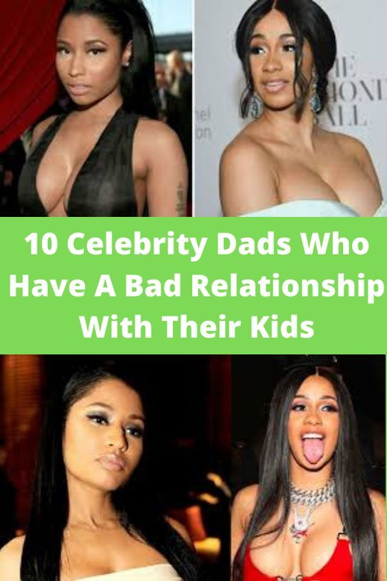 10 Celebrity Dads Who Have A Bad Relationship With Their Kids